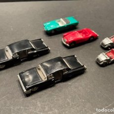 Coches a escala: LOTE DE 6 COCHES DE JUGUETE (MINI CARS - ANGUPLAS). Lote 245410280