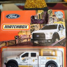 Coches a escala: MATCHBOX 78/100: '15 FORD F-150 CONTRACTOR TRUCK. Lote 245410690