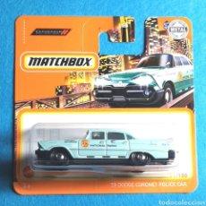 Coches a escala: (ETB) MATCHBOX: '59 DODGE CORONET POLICE CAR. 71/100. Lote 245420235