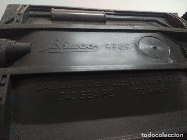 Coches a escala: SCHUCO CADILLAC DE VILLE CONVERTIBLE 5505. - Foto 13 - 245568485