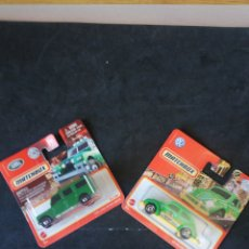 Coches a escala: MATCHBOX METAL LAND ROVER Y VE BEETLE. Lote 248479130