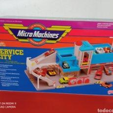 Voitures à l'échelle: MICROMACHINES SERVICE CITY ESTACIÓN DE SERVICIO.MICRO MACHINES FAMOSA 90S.NUEVO EN CAJA SIN ABRIR.. Lote 264127145