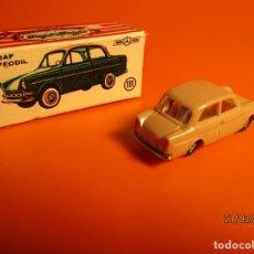 Coches a escala: DAF DAFFOIL ANGUPLAS MINI CARS Nº 111 MADE IN SPAIN 1/86 / AÑOS 60 / CON CAJA COMPLETA ORIGINAL.. Lote 248467370