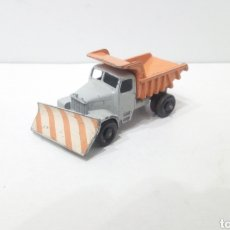 Coches a escala: JIFFY VENDE CAMIÓN MATCHBOX LESNEY QUITANIEVES N°16 SCAMMELL SNOW PLOUGH MADE IN ENGLAND. MOKO.. Lote 252058745