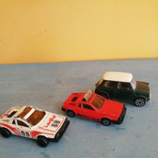 Carros em escala: 2 LANCIA MONTECARLO MAJORETTE Y 1 MINI COOPER DE BURAGO. Lote 252815135