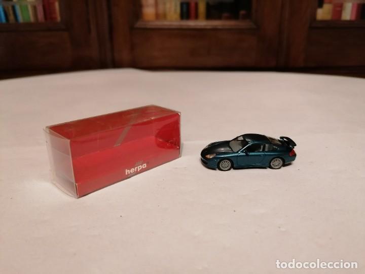 HERPA 1/87 PORSCHE 911 GT3 PERFECTO ESTADO (Juguetes - Coches a Escala Otras Escalas )