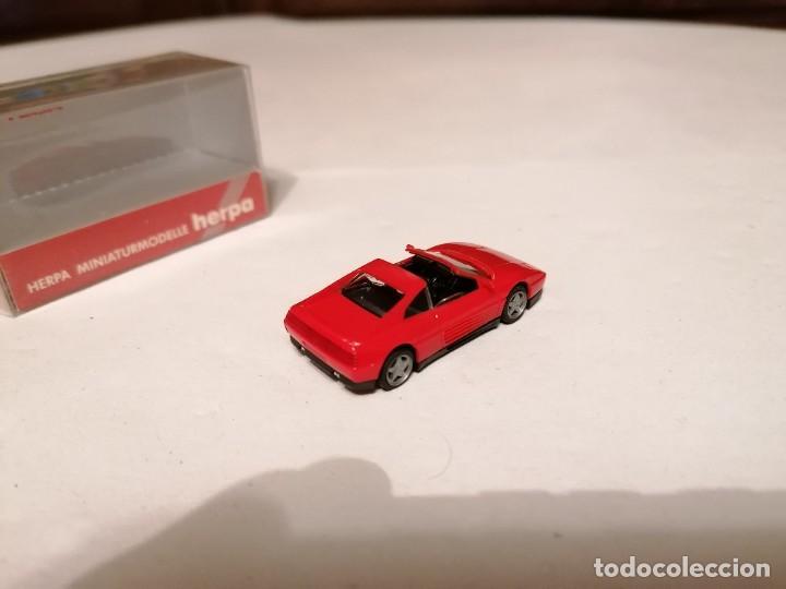 Coches a escala: Herpa 1/87 025300 Ferrari 348 Testarossa Perfecto Estado - Foto 3 - 253234955