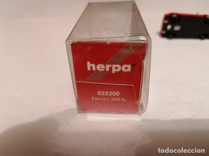 Coches a escala: Herpa 1/87 025300 Ferrari 348 Testarossa Perfecto Estado - Foto 5 - 253234955