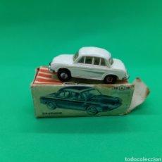 Coches a escala: MINI-CAR. ANGUPLAS. DAUPHINE BLANCO. EN CAJA.. Lote 253911460