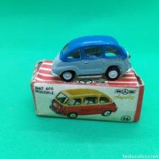 Coches a escala: MINI-CAR. ANGUPLAS. SEAT 600 MÚLTIPLE. NUM.46. EN CAJA.. Lote 253912140