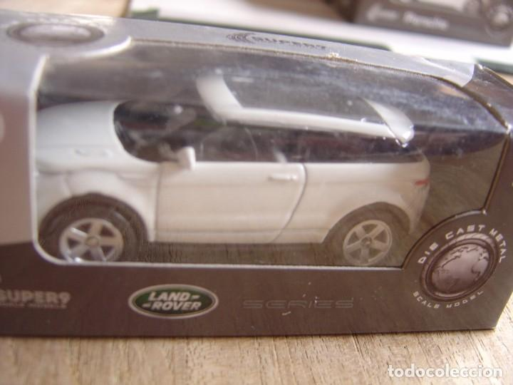 LAND ROVER EVOQUE. -COCHES LEGENDARIOS-. WELLY SUPER9. SCALE MODELS 1/60 (Juguetes - Coches a Escala Otras Escalas )