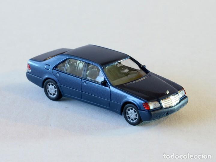 Coches a escala: Herpa Escala 1:87 H0 Lote de 5 coches Mercedes Benz, E320T,300E,600SEL,G,500SL - Foto 7 - 254025965