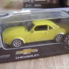Coches a escala: CHEVROLET 1968 CAMARO Z28 . -COCHES LEGENDARIOS-. WELLY SUPER9. SCALE MODELS 1/60. Lote 254036520