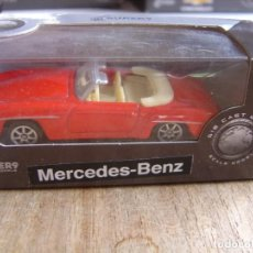 Coches a escala: MERCEDES-BENZ 190 SL. -COCHES LEGENDARIOS-. WELLY SUPER9. SCALE MODELS 1/60. Lote 254044280