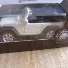 Coches a escala: JEEP WRANGLER RUBICON. -COCHES LEGENDARIOS-. WELLY SUPER9. SCALE MODELS 1/60. Lote 254044635