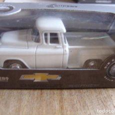 Coches a escala: CHEVROLET STEPSIDE 1955. -COCHES LEGENDARIOS-. WELLY SUPER9. SCALE MODELS 1/60. Lote 254044915