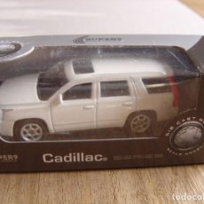 Coches a escala: CADILLAC ESCALADE. -COCHES LEGENDARIOS-. WELLY SUPER9. SCALE MODELS 1/60. Lote 254047435