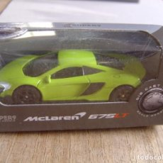 Coches a escala: MCLAREN 675 LT COUPE. -COCHES LEGENDARIOS-. WELLY SUPER9. SCALE MODELS 1/60. Lote 254048000