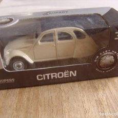Coches a escala: CITRÖEN 2CV. -COCHES LEGENDARIOS-. WELLY SUPER9. SCALE MODELS 1/60. Lote 254050515
