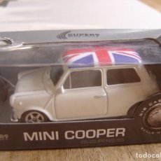 Coches a escala: MINI COOPER 1300. -COCHES LEGENDARIOS-. WELLY SUPER9. SCALE MODELS 1/60. Lote 254050905