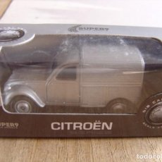 Coches a escala: CITRÖEN 2CV FOURGONNETTE. -COCHES LEGENDARIOS-. WELLY SUPER9. SCALE MODELS 1/60. Lote 254051135