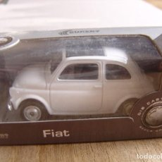 Coches a escala: FIAT NUOVA 500. -COCHES LEGENDARIOS-. WELLY SUPER9. SCALE MODELS 1/60. Lote 254052185