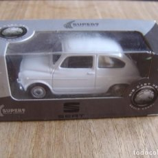 Coches a escala: SEAT 600. -COCHES LEGENDARIOS-. WELLY SUPER9. SCALE MODELS 1/60. Lote 254052565