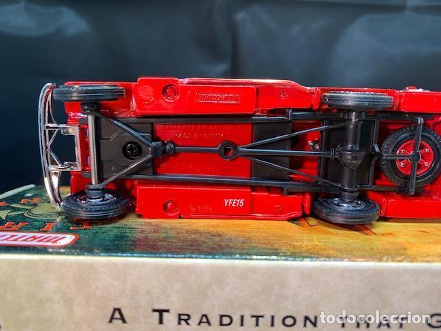 Coches a escala: MATCHBOX FIRE ENGINE, MACK AB FIRE ENGINE 1935, NUEVO C/CAJA - FLA - Foto 6 - 254159325