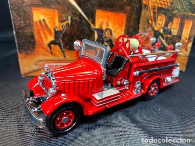 MATCHBOX FIRE ENGINE, MACK AB FIRE ENGINE 1935, NUEVO C/CAJA - FLA (Juguetes - Coches a Escala Otras Escalas )