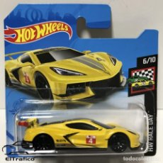 Coches a escala: HOT WHEELS CHEVROLET CORVETTE C8.R AMARILLO, HOTWHEELS. Lote 254404600