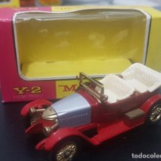 Coches a escala: MATCHBOX Y-2 PRINCE HENRY VAUXHALL 1914. MODELS OF YESTERDAY. ESTADO IMPECABLE. MADE IN ENGLAND. Lote 254641280