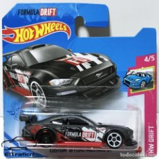 Coches a escala: HOT WHEELS FORD MUSTANG GT CUSTOM 18 NEGRO, HOTWHEELS. Lote 254648395