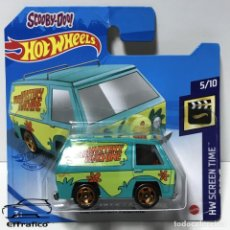 Coches a escala: HOT WHEELS SCOOBY-DOO THE MYSTERY MACHINE, HOTWHEELS. Lote 254648410