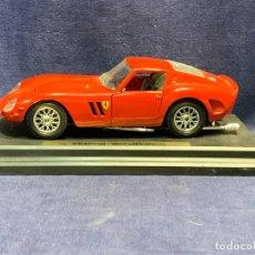 Coches a escala: COCHE AUTOMOVIL JUGUETE FERRARI 250 GTO 1962 METAL ITALY ITALIA 5X7X19CMS. Lote 257403590