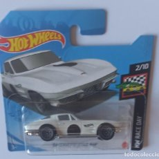 Coches a escala: HOT WHEELS '64 CORVETTE STING RAY. HW RACE DAY 2/10 (3). Lote 262026435
