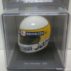 Coches a escala: CASCO JODY SCHECKTER F1 WORLD CHAMPION 1979 1:5 SPARK EDITIONS. Lote 262585490