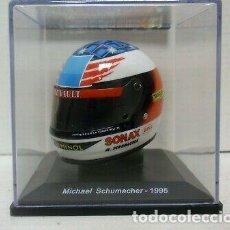 Coches a escala: CASCO MICHAEL SCHUMACHER F1 WORLD CHAMPION 1995 1:5 SPARK EDITIONS. Lote 262585515