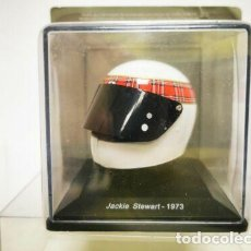 Coches a escala: CASCO JACKIE STEWART F1 WORLD CHAMPION 1973 1:5 SPARK EDITIONS. Lote 262585520
