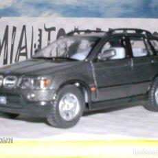 Coches a escala: BMW X5 DE KINSMART ESCALA 1,36. ABREPUERTAS DE METAL .. !LINDO¡. Lote 262587610