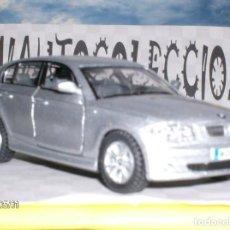 Coches a escala: BMW 1 SERIES DE KINSMART ESCALA 1,34. ABREPUERTAS DE METAL .. !LINDO¡. Lote 262587885