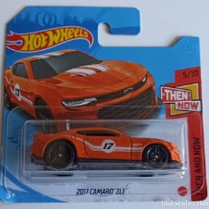 Coches a escala: HOT WHEELS 2017 CAMARO ZL1. THEN AND NOW 5/10 (3). Lote 262720695