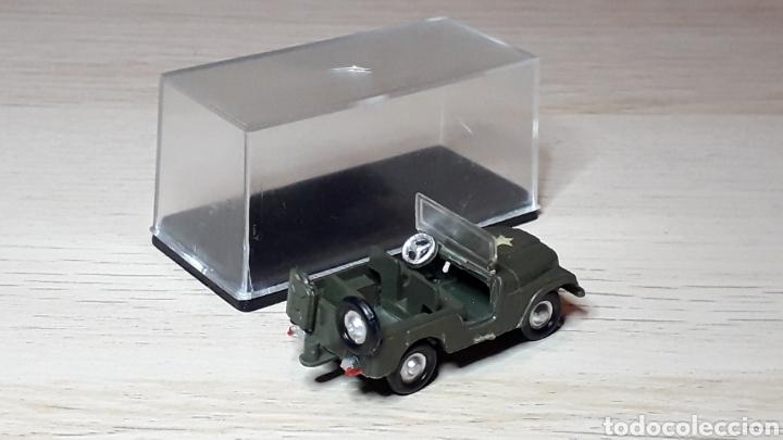 Coches a escala: Jeep Willys # 2026, plástico, esc. 1/88 1/87 H0, Eko made in Spain, años 70. - Foto 2 - 262821905