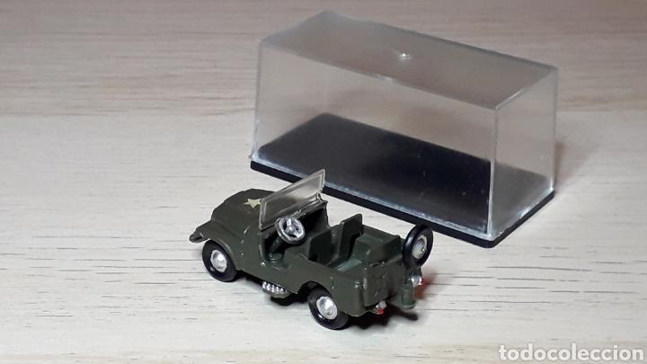 Coches a escala: Jeep Willys # 2026, plástico, esc. 1/88 1/87 H0, Eko made in Spain, años 70. - Foto 3 - 262821905