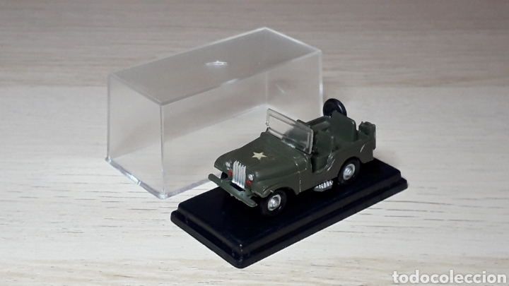 Coches a escala: Jeep Willys # 2026, plástico, esc. 1/88 1/87 H0, Eko made in Spain, años 70. - Foto 4 - 262821905
