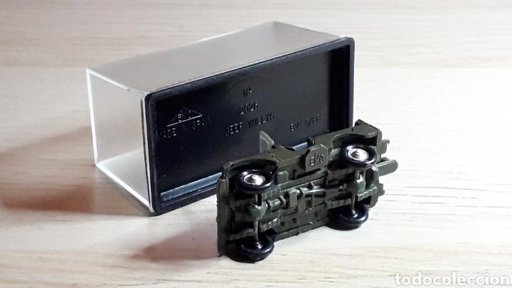 Coches a escala: Jeep Willys # 2026, plástico, esc. 1/88 1/87 H0, Eko made in Spain, años 70. - Foto 5 - 262821905