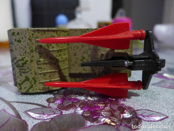 Coches a escala: K-117 SP HAWK LAUNCHER DE MATCHBOX BATTLE KINGS LESNEY - Foto 3 - 263189510