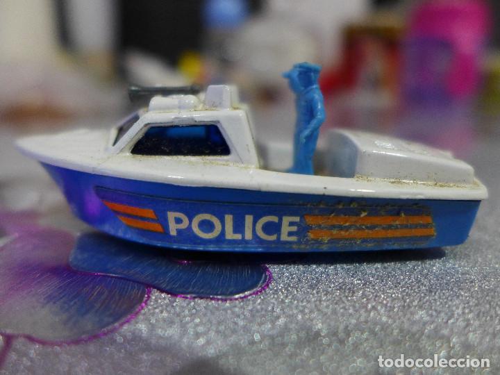 Nº 52 POLICE LAUNCH DE MATCHBOX SUPERFAST LESNEY (Juguetes - Coches a Escala Otras Escalas )