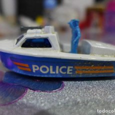 Coches a escala: Nº 52 POLICE LAUNCH DE MATCHBOX SUPERFAST LESNEY. Lote 263197215