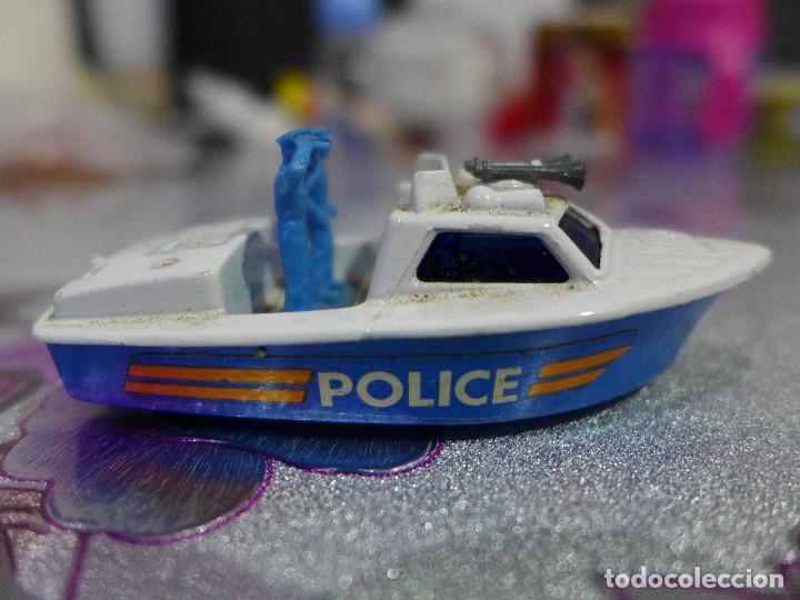 Coches a escala: Nº 52 POLICE LAUNCH DE MATCHBOX SUPERFAST LESNEY - Foto 2 - 263197215