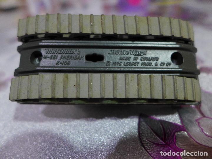 Coches a escala: M-551 SHERIDAN K-109 DE MATCHBOX BATTLE KINGS LESNEY - Foto 4 - 263215870